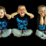 horen, zien, zwijgen kind